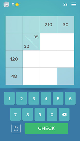 Multiplication Kakuro App